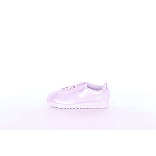 Femme Argent Cortez Classic 39 Leather Nike Barely Baskets Grape RZYO10Hwq