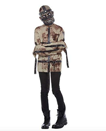 Totally Ghoul Psycho Straight Jacket Teen Boy Halloween Costume Large (10-14) -
