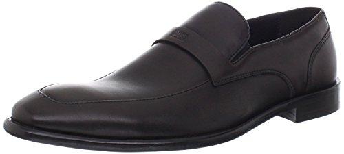 BOSS HUGO BOSS Men's Metero Slip-On,Medium Brown,10 M US