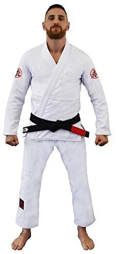 Kimono Jiu Jitsu Ultra Light Keiko Sports Unissex A3 Branco