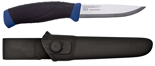 Morakniv-Craftline-TopQ-Allround-Fixed-Blade-Utility-Knife-with-Sandvik-Stainless-Steel-Blade-and-Combi-Sheath-41-Inch