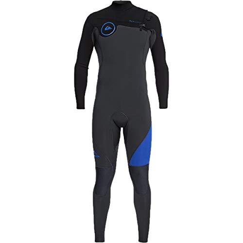 002c24d73ba1 Quiksilver 3/2mm Syncro Series Chest Zip GBS Men's Full Wetsuits -  Graphite/Black