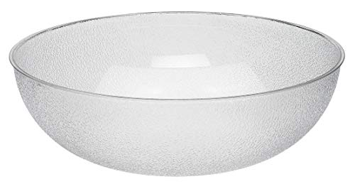 Cambro (PSB18176) 20-1/5 qt Round Pebbled Bowl - Camwear (Catering Salad Bowl)