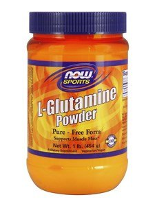 NOW Foods Sports L-Glutamine Powder -- 1 (Now Foods L-glutamine Powder)