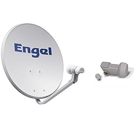 Engel AN7036D - Antena parabólica metálica, 80 cm: Amazon.es ...
