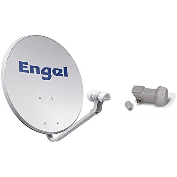 Engel AN7036D - Antena parabólica metálica, 80 cm: Amazon ...