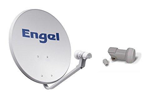 Engel AN7036D - Antena parabólica metálica, 80 cm Engel Axil Spain