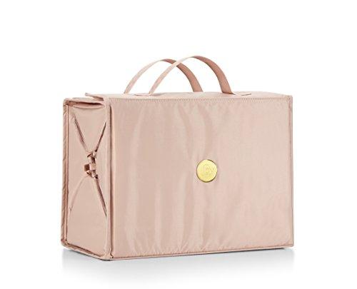 Joy Mangano Extra Large Better Beauty Case, Blush, (Best Bag Cases For Makeups)