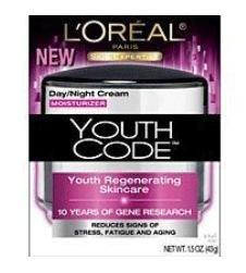 L'Oréal Paris Jeunes code Soin Régénérant Jour / Nuit, Crème, 1,6-Fluid Ounce