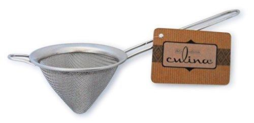 Culina 7,5cm Spitzsieb, hochwertiges Edelstahl Sieb