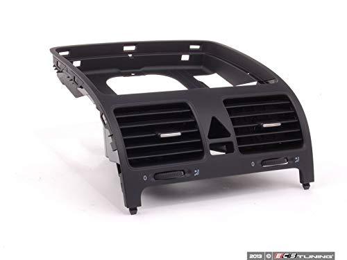 06-10 VW Volkswagen Jetta SEDAN Black Instrument Panel Center Vent Replacement 1K0-819-728-H-1QB ()
