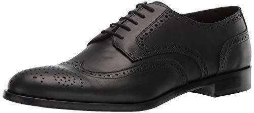 Emporio Armani Men's Detailed Oxford, Black, 7 Medium UK (8 US) (Uk Armani)