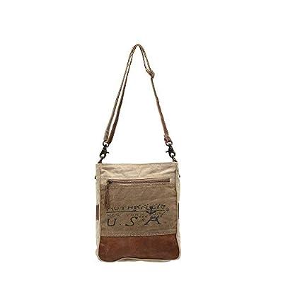 Myra Bags USA Upcycled Canvas Shoulder Bag S-0953