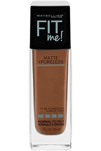 - Maybelline New York Fit Me Matte + Poreless Liquid Foundation Makeup, Nutmeg, 1 fl. oz. Oil-Free Foundation