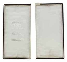 TYC 800085P2 Suzuki Grand Vitara Replacement Cabin Air Filter