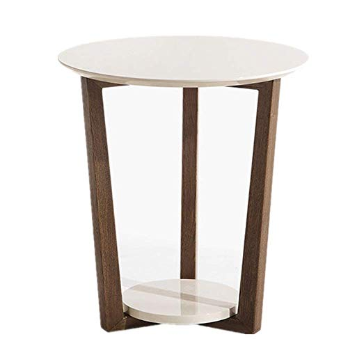 TZSMZDZ Desk Modern Nightstand Coffee End Tables Modern Furniture Decor Side Table for Living Room Balcony Home and…