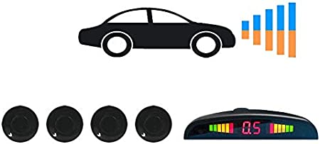 TB-FS058 Tadibrothers Front Bumper Parking Backup Sensor System with Display and Sound