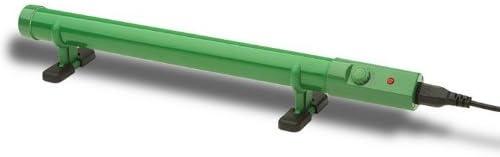 Tubular Thermostat Controlled Heater 500mm 55watt Green