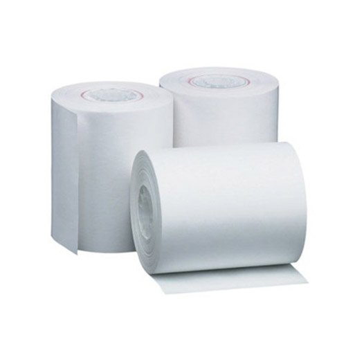 4 3/8 X 2 1/4 X 127' Standard Thermal POS/Cash Register Rolls .410'' Core ID 50 ROLLS for Datamax O'Neil/Intermec Printers by Greenleaf