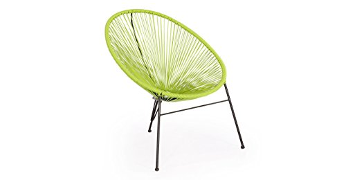 Amazon.com: Kardiel 3 Piece Outdoor Acapulco Chairs U0026 Table, Lime Green:  Kitchen U0026 Dining
