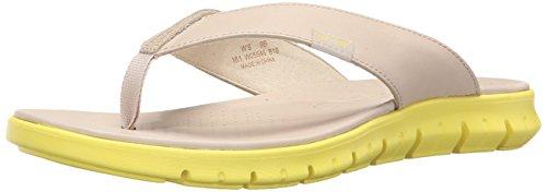 Cole Haan Women's Zerogrand Sandal Flip Flop, Oat/Sunray, 9 B US by Cole Haan
