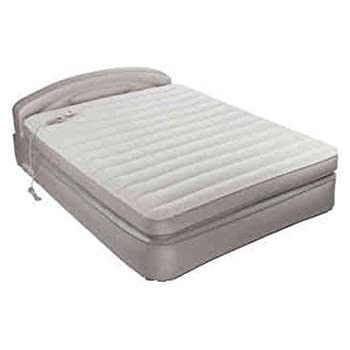 aerobed opti comfort queen air mattress with headboard health personal care. Black Bedroom Furniture Sets. Home Design Ideas