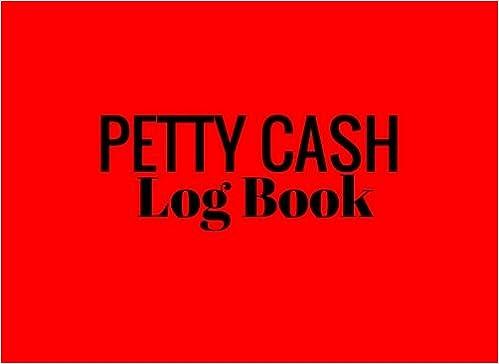 simple petty cash log