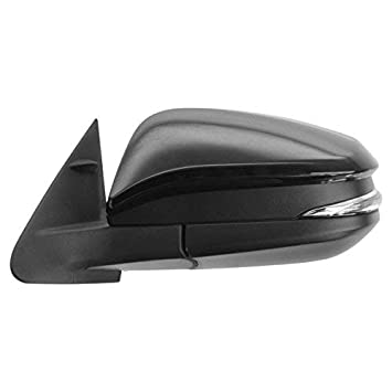 New TO1320317 Driver Side Mirror for Toyota Highlander 2014-2016