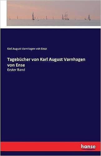 Book Tagebücher von Karl August Varnhagen von Ense: Erster Band