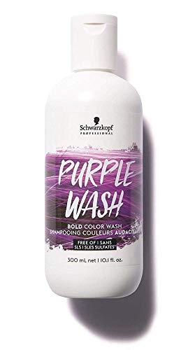 🥇 Schwarzkopf Bold Color Wash Champú Morado/Violeta Wash 300Ml