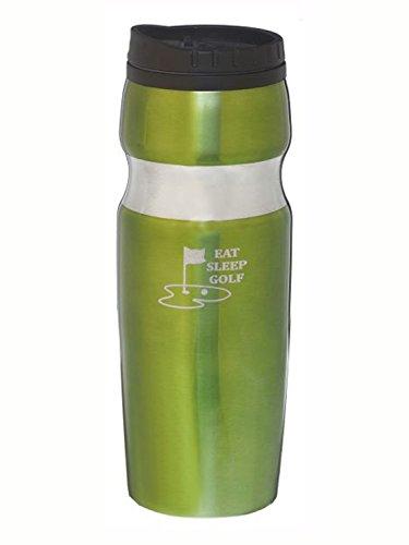 Eat Sleep Golf Travel Mug by Ganz (Travel Ganz Mugs)