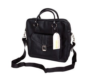 Deluxe Shoulder Tote - Black by Papermania