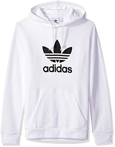 adidas Originals Men's Trefoil Hoodie, White ()