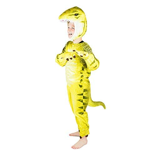 Bodysocks Boys Dinosaur Fancy Dress Costume (5-6 Years)]()