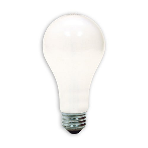 GE Lighting Soft White 3-way 97494 50/100/150-Watt, 2155-Lumen A21 Light Bulb with Medium Base,