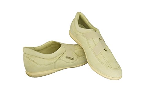 Hogan By Tods Slim Banana Elasticizzata Scamosciata Slip On Sneakers Shoes Banana