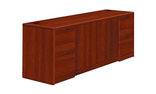 - HON 10742CO 10700 Series Credenza w/Doors, 72w x 24d x 29 1/2h, Cognac