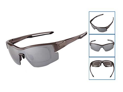 E Gafas De 400 Deportivas Aili Mujer Set Intercambiables con Polarizadas A Deportivas UV Protección Lentes para Hombre 3 T1wqvq