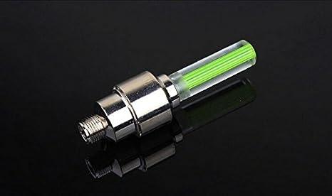 Luces para ruedas de bicicleta – Luz de bicicleta sin batería para ...