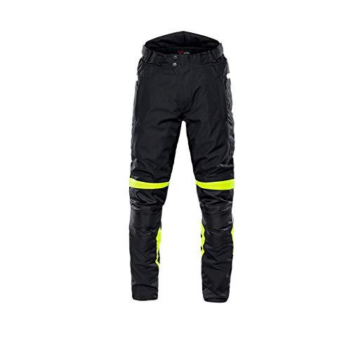 GuoCu Herren Sportliche Motorrad Hose mit Protektoren und Reflektoren Motorrad Textilhose Motorradhose mit…