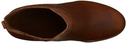 Timberland Atlántico Alturas Cubren Gore Señoras Chelsea Boot marrón