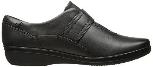 Clarks Vrouwen Everlay Dixey Slip-on Loafer, Zwart Leder, 12 M Ons