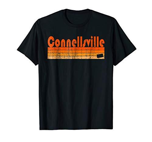 Retro 80s Style Connellsville PA T-Shirt