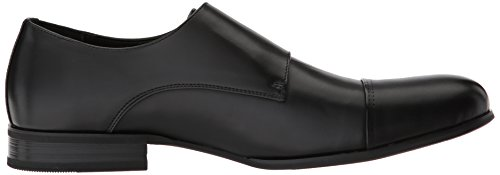 Unlisted by Kenneth Cole Mens EEL Monk-Strap Loafer Black QVbhX