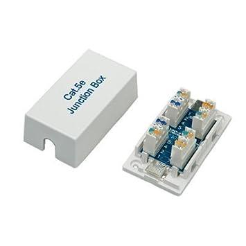 Network Cable Connection Junction Box, UTP, Cat5e: Amazon.co.uk ...