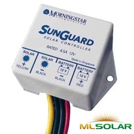 Morningstar SG-4 SunGuard 12V Solar Charger by Morningstar Corporation