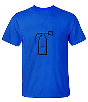 zhangyonggui Fire Extinguisher Tee Shirts for Mens