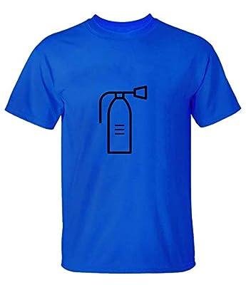 zhangyonggui Fire Extinguisher Tee Shirts for Mens
