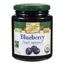 Field Day Fruit Spread - Organic - Blueberry - 14 oz - case of 12