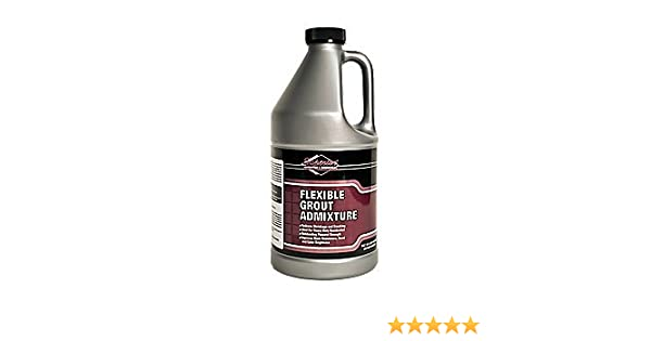 Superior Chemicals Flexible Grout Admixture 1 2 Gallon Tile Grout Amazon Com